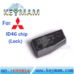 Mitsubishi Lock ID46 chip carbon