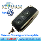 Volkswagen Phaeton Touareg remote replacement shell