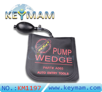 New KLOM PUMP WEDGE Airbag Air Wedge-Pump Wedge for Unlock Car Door, bump key padlock tool ,Middle Size with Black Color