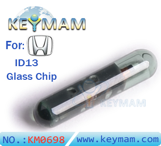 blank ID13 chip glass