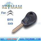 Citroen IDT5 transponder key