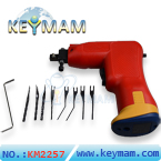 Electronic Power Lock Pick Gun with LED Illumination