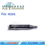keymam H101 carbide key cutter (ø2.5mm)