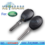 Landrover transponder key shell