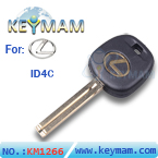 Lexus TOY48BT4 ( TR48PHT ) Transponder Key (Short) Chip - 4C