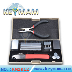Professional 12 in 1 HUK Lock Disassembly Tool Locksmith Tools Kit Remove Lock Repairing Lock Pick Set