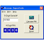 Nissan SuperCode Software