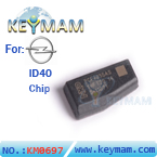 opel ID40 chip carbon