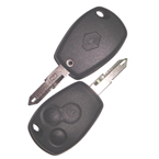 Renault 3 Button Remote Shell ключ