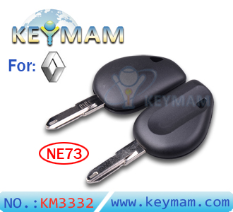 Renault transponder key shell(without logo)