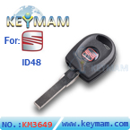 Seat ID48 transponder key with light