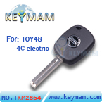 TOY48 4C electric key with keymam logo(41mm)