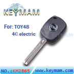 TOY48 4C electric key with keymam logo(46mm)