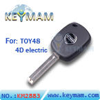 TOY48 4D electric key with keymam logo(41mm)