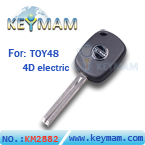 TOY48 4D electric key with keymam logo(46mm)