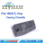 Toyota 4D67 chip (carbon)