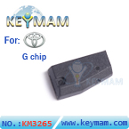 Toyota G chip 80bit carbon