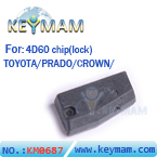 Toyota ID4D60 chip( carbon)