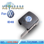 VW ID48 filp remote key  head(square)