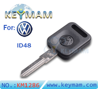 VW santana ID48 transponder key