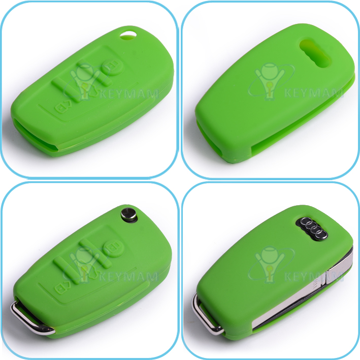 audi_3b_silicon_rubber_case_green