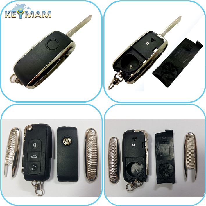 Volkswagen Phaeton Touareg remote control replacement shell