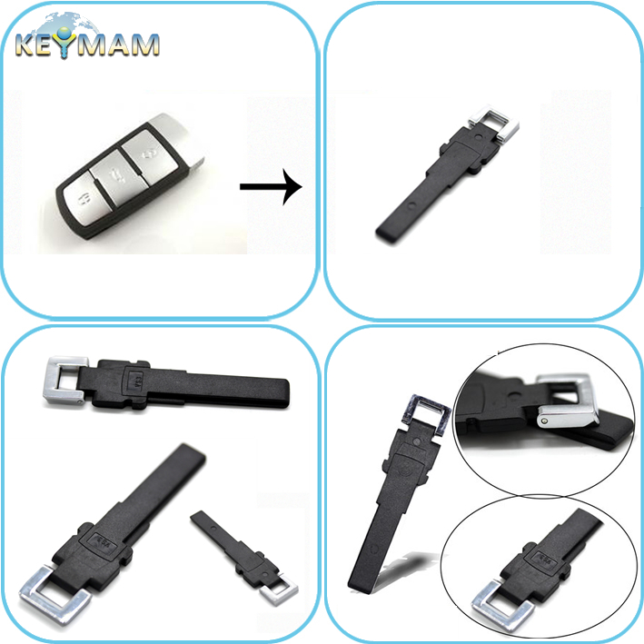 VW Magotan smart key blade